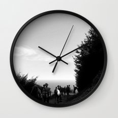 Hiking the California Coast Wall Clock