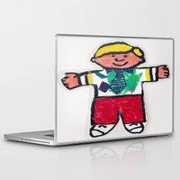 stanley kubrick Laptop & iPad Skins featuring Flat Stanley by Mr. Moose, Esq.
