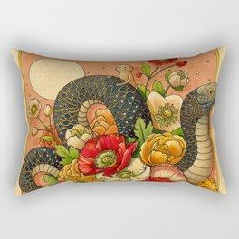 Summer Bouquet Rectangular Pillow