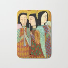 three angels Bath Mat