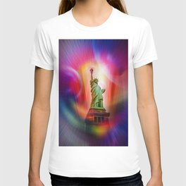 New York NYC - Statue of Liberty 2 T-shirt