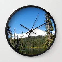 Hello, Mt. Rainier! Wall Clock