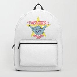 Hex Girls World Tour Vintage Concert Tee Backpack