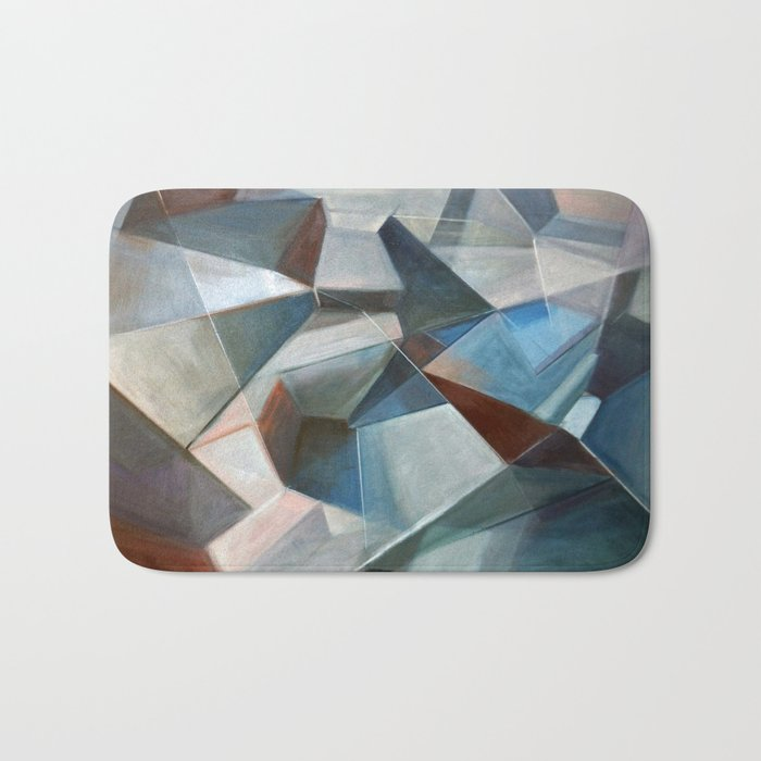Spacial Abstraction II Bath Mat