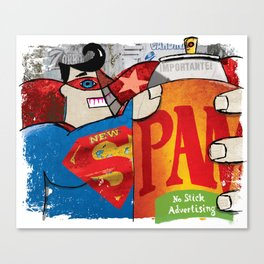 Spam Canvas Print