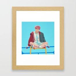 Jungkook Framed Art Print