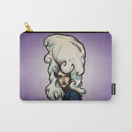Marshmallow Hair Carry-All Pouch