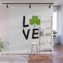Love St Patricks Day Wall Mural