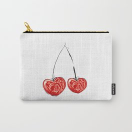 Cherry in love Carry-All Pouch