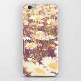 flowers. daisy photograph, We Need Each Other iPhone Skin