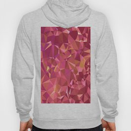 Triangles Red Hoody