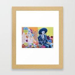 May We Never Part Framed Art Print