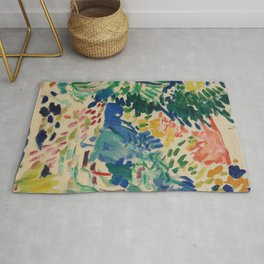 Landscape at Collioure - Henri Matisse - Exhibition Poster Rug