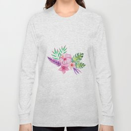 Tropical bouquet i Long Sleeve T-shirt