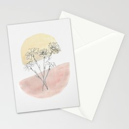 Daisy Floral Stationery Cards