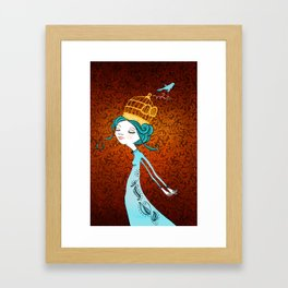 If You Love It, Set It Free Framed Art Print
