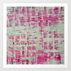 Pink Block Art Print