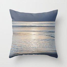Shining Sea Throw Pillow