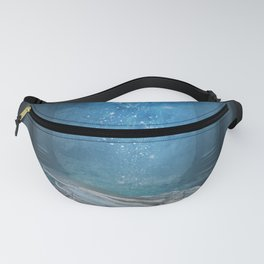 Awesome sleeping ice dragon Fanny Pack