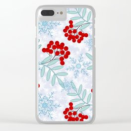 Christmas pattern.2 Clear iPhone Case