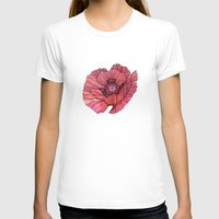 poppy T-shirts featuring Poppy by Annike