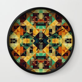 Playful Geometry 005 Wall Clock