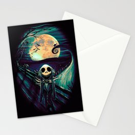 The Scream Before Christmas Stationery Cards