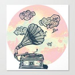 Dream Gramophone Canvas Print