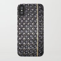 wine iPhone & iPod Cases featuring Wine by Alev Takil