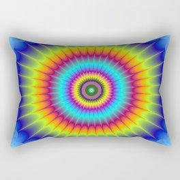 Pulsating Star Rectangular Pillow