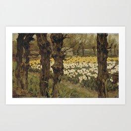 Tulip Fields - Anton L. Koster Art Print