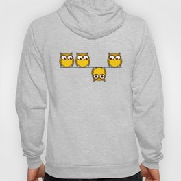 A whole new perspective for the owl Hoody