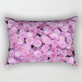 Lovely pink chrysanthemums Rectangular Pillow