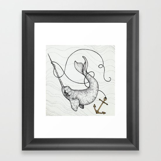 """Uncharted Waters"" art print Framed Art Print"
