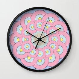 Simple Mandala Wall Clock