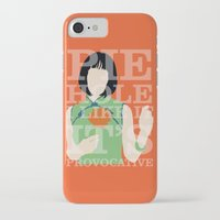 pushing daisies iPhone & iPod Cases featuring Pushing Daisies - Vivian by MacGuffin Designs
