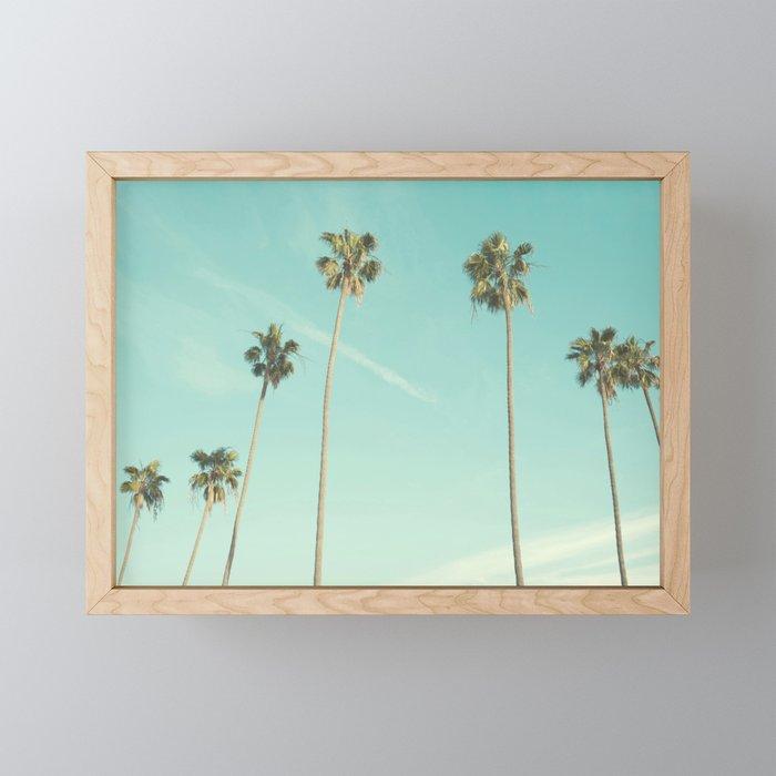 Palm Trees 2 Framed Mini Art Print