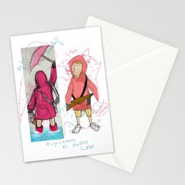 En Busca del Lobo Stationery Cards
