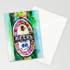 Beck's Beer Stationery Cards