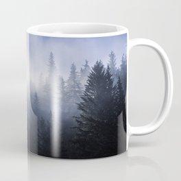 Mist in the Trees of Alaska Coffee Mug
