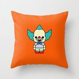 krusty style pin y pon Throw Pillow