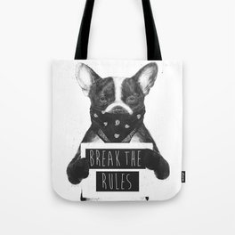 Rebel dog Tote Bag