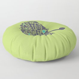 The Time That's Given Floor Pillow