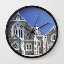 Dutch reformed church in Graaff-Reinet, South Africa Wall Clock