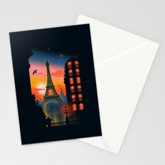 Paris Stationery Cards