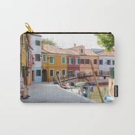 Sunday Morning on Murano Island, Venice, Italy Carry-All Pouch