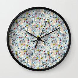Bunny Rabbits Wall Clock