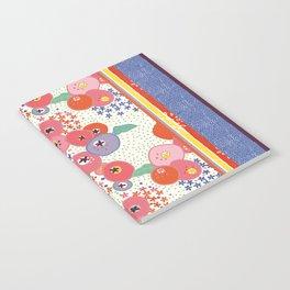 Floral rug Notebook