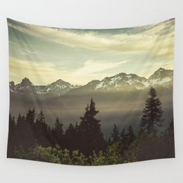 Morning in the Mountains Wall Tapestry