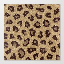 Leopard Love Canvas Print